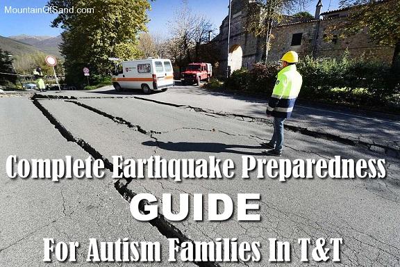 Earthquake Preparedness Guide For Autism Families